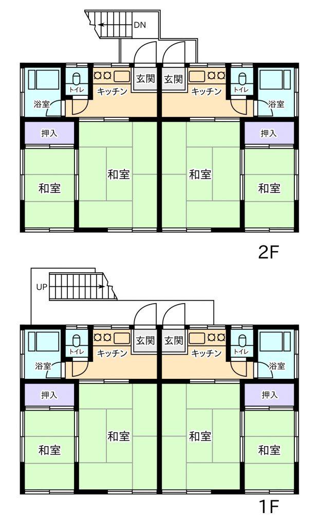 和田町 貸家+共同住宅 敷地99坪!!